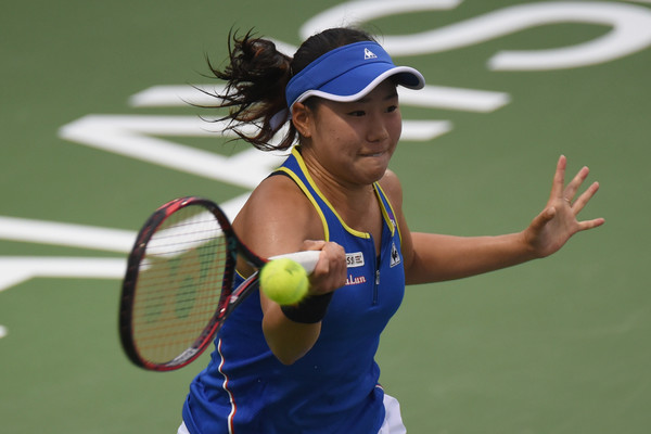 Nao Hibino reached the final in Malaysia yesterday | Photo: Stanley Chou/Getty Images AsiaPac