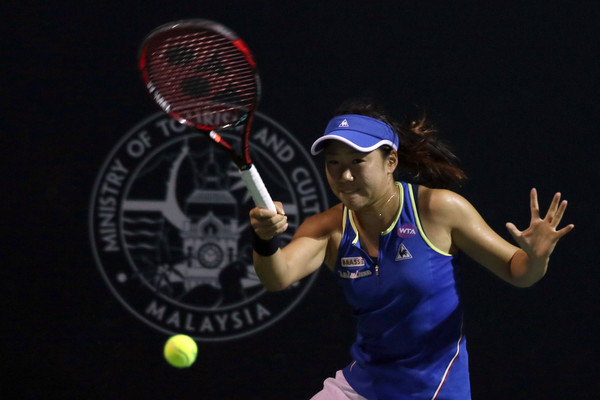 Nao Hibino in action at the 2017 Malaysian Open, where she lost in the final | Photo: Stanley Chou/Getty Images AsiaPac