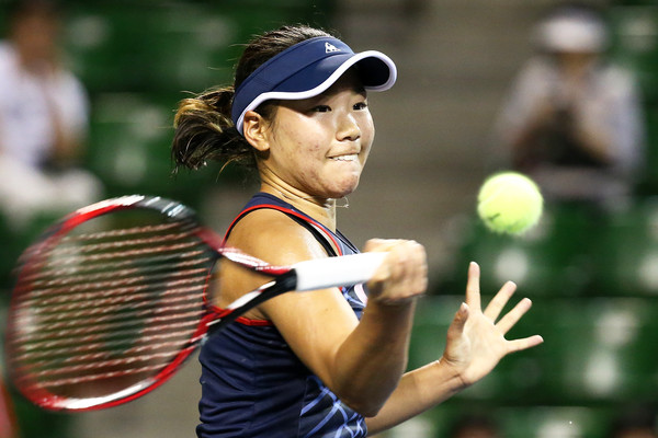 Nao Hibino in action at her home tournament in Tokyo | Photo: Koji Watanabe/Getty Images AsiaPac
