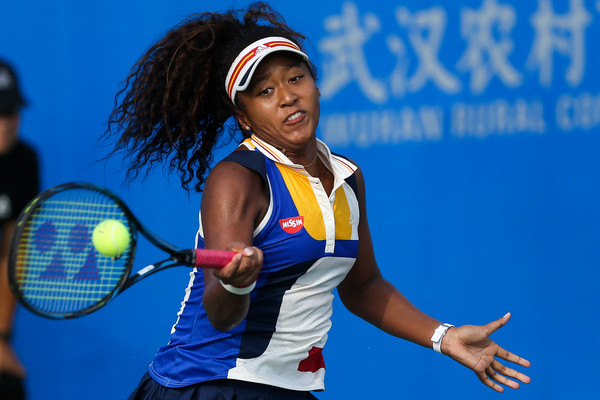 Naomi Osaka in action at the Wuhan Open | Photo: Yifan Ding/Getty Images AsiaPac