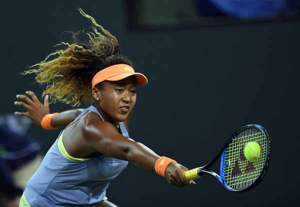 Naomi Osaka was simply impressive today, overpowering the five-time Major champion | Photo: Kevork Djansezian/Getty Images North America