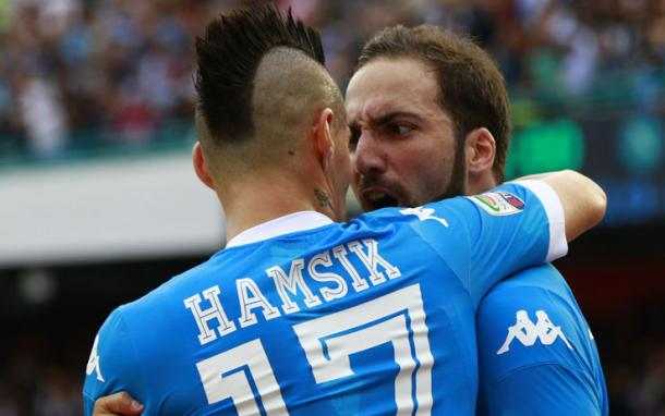 Hamsik e Higuain, sport.sky.it