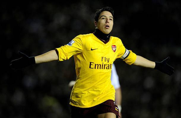 Nasri era um dos principais jogadores do Arsenal (Foto: Michael Regan/Getty Images)