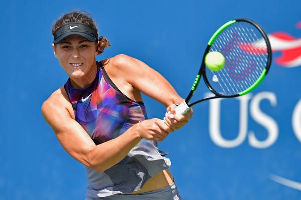 Natalia Vikhlyantseva in action at the US Open | Photo: Steven Ryan/Getty Images North America