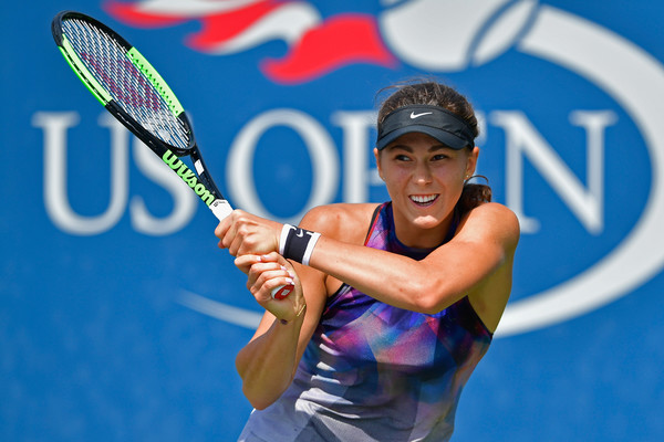 Natalia Vikhlyantseva will look to cause an upset against Vesnina in the second round | Photo: Steven Ryan/Getty Images North America