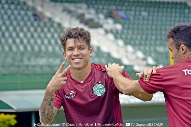 Nazário é peça fundamental do Bugre (Foto:Gabriel Ferrari/Guarani FC)