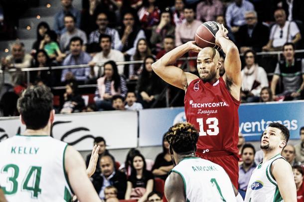 Neal es la gran ambición rojilla para la siguiente temporada/ Foto: Basket Zaragoza