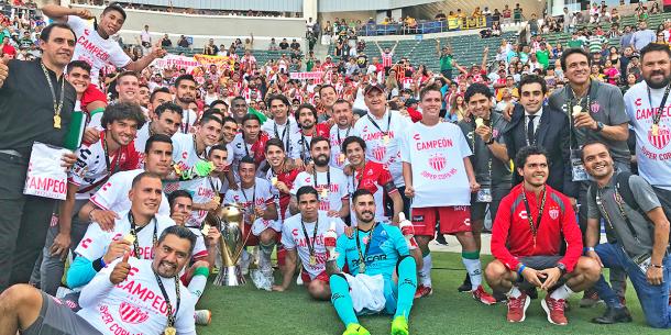 Necaxa campeón de la SuperCopa / Fuente: ClubNecaxa