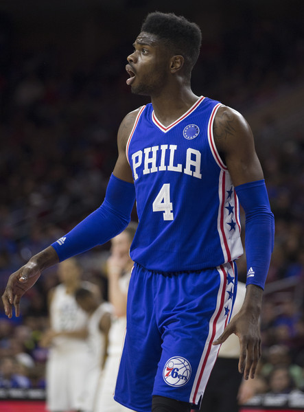 Nerlens Noel could make moving Okafor easier. Credit:  Mitchell Leff/Getty Images North America