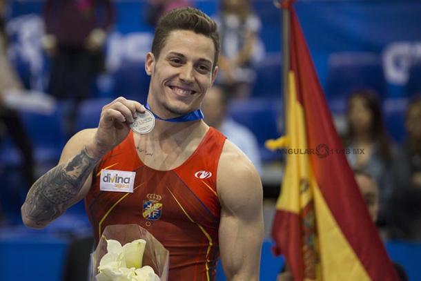 Nestor Abad medalla de plata en Abierto Mexicano | Foto: Angular México