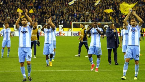 La battaglia in terra olandese ha visto la Lazio tornare in Patria con tre punti pesanti in chiave qualificazione ai sedicesimi. Fonte foto: repubblica