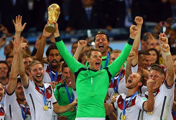 Campeão mundial em 2014, Neuer visa o pentacampeonato pela Alemanha (Foto: Amin Mohammad Jamali/Getty Images)