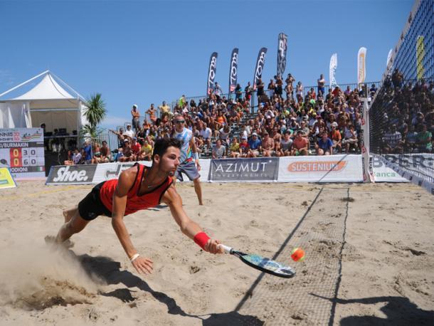 Torneio profissional na Itália (Foto: Maximilian Hamm)
