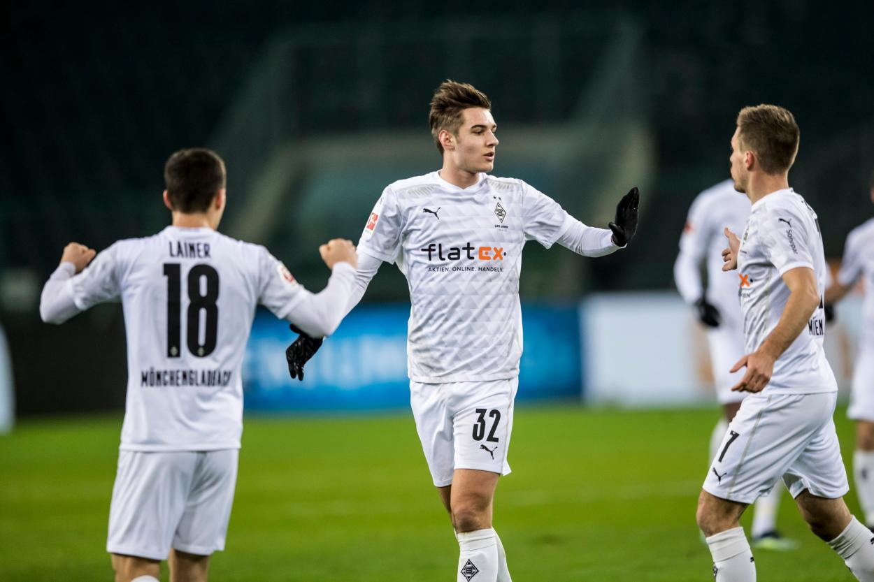 Neuhaus marcó su cuarto gol de la temporada / FOTO: @borussia