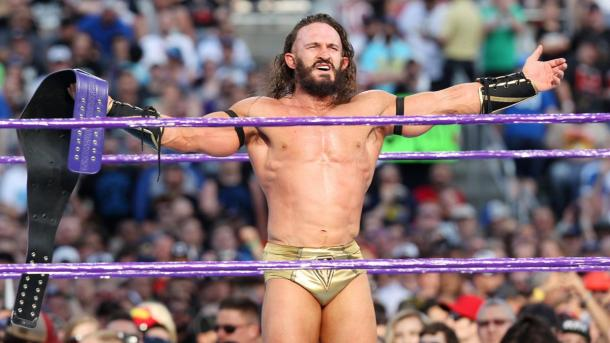 Neville showed why he was the King of the Cruiserweights on the preshow (image: wwe.com)