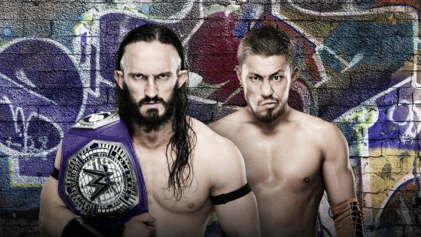 The king defends his crown against Tozawa. Photo-WWE.com