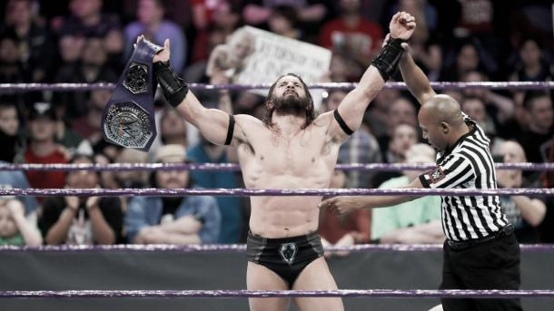 The King of the Cruiserweights stayed true to his word and remains on his throne after defeating Jack Gallagher (image: wwe.com)
