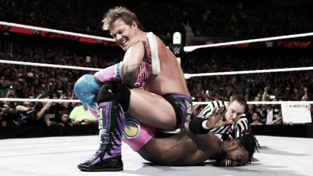 Jericho brought the best out of New Day. Photo- WWE