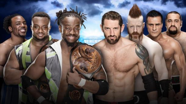 Can New Day overcome the numbers game? Photo- WWE.com