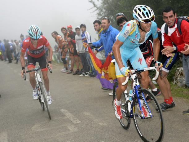 Nibali fue muy combativo, pero Horner no cedió en ningún momento | Fotografía: