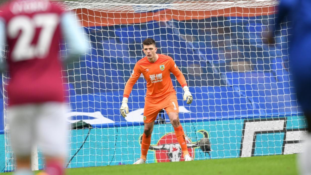 Nick Pope evitó que la diferencia de goles fuera mayor. | FOTO: Burnley FC