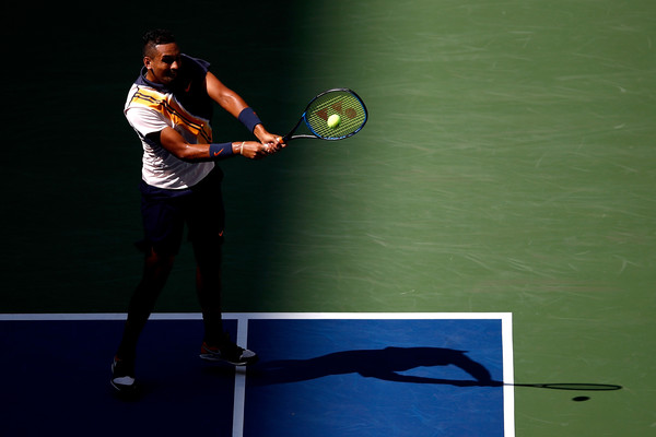 Nick Kyrgios failed to capitalize on his chances in the first set | Photo: Julian Finney/Getty Images North America