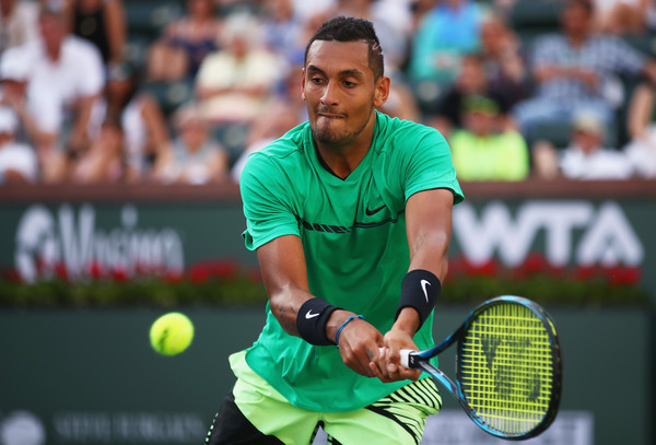 Nick Kyrgios in action | Photo: Clive Brunskill/Getty Images North America
