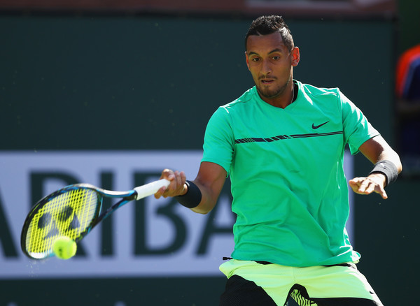 Nick Kyrgios would want to replicate his upset from Acapulco | Photo: Clive Brunskill/Getty Images North America