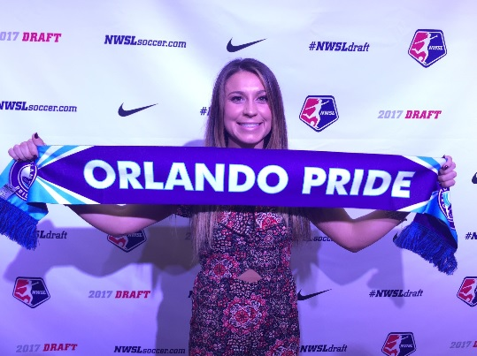 Nickolette Driesse selected 32nd overall during 2017 NWSL College Draft | Source: @ORLPride twitter.com