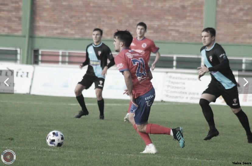Nicolás Rodríguez, jugador de la UD Ourense / Foto: Yedra Seara