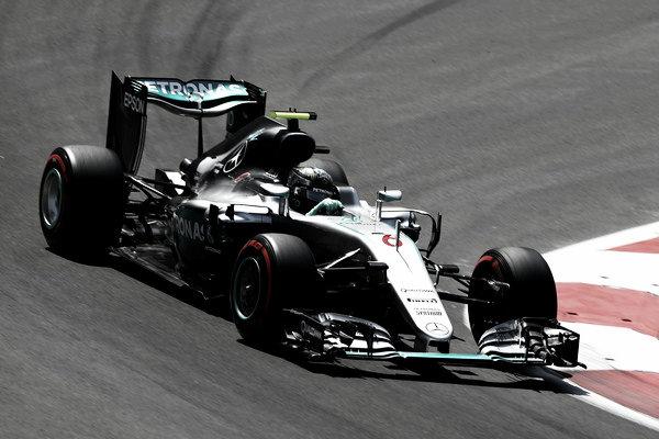 Nico Rosber en el GP de bakú I Foto: Mercedes AMG