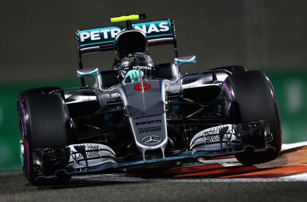 Nico Rosberg, durante el Gran Premio de Abu Dabi | Fuente: Getty Images