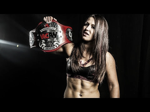 Newell is the former WCPW Women's Champion. Photo-YouTube.com