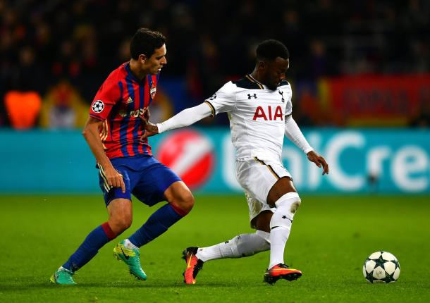Nkoudou was a large part of Tottenham's resurgence in the second-half / Greatgoals.com