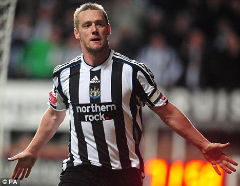 Nolan's 17 goals lead Newcastle out of the Championship (Photo: dailymail.co.uk)
