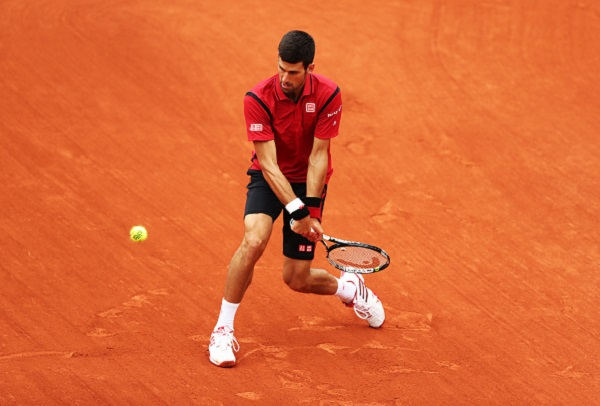 Novak Djokovic is through to the second round in Paris where he will face Steve Darcis from Belgium (credit: Chris Brunskill; Getty images)