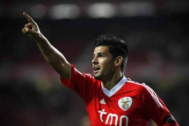 Nolito during his time at Benfica
