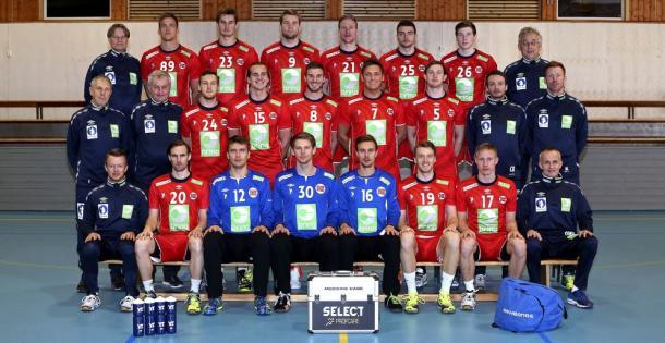 Selección noruega. Foto: EHF.