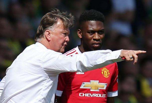 Louis van Gaal was an influential figure according to the youngster (Photo: Getty Images)