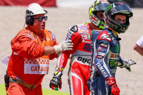 Marshal prepares for battle as Lorenzo refuses to speak with Iannone - www.motogp.com