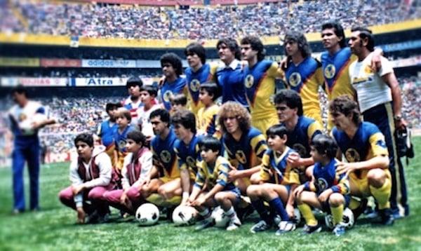 Campeones contra Chivas en 1984 | Foto: Club América - Sitio Oficial