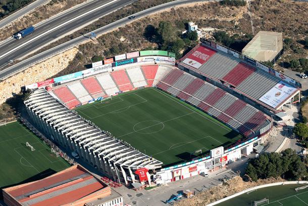 El Nou Estadi, hogar del Nàstic. | Foto: Wikimedia