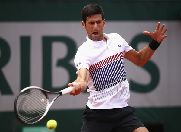 Novak Djokovic hits a forehand | Photo: Julian Finney/Getty Images Europe