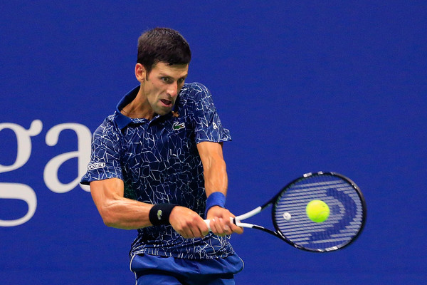 Djokovic claims the win in three sets and will face Nishikori next | Photo: Jaime Lawson/Getty Images North America