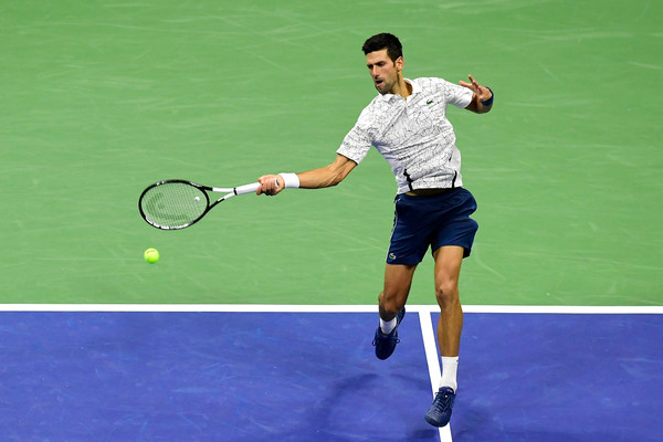 Djokovic defeats Nishikori for the 14th consecutive time they met   Photo: Sarah Stier/Getty Images North America