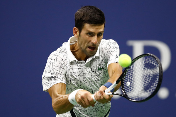 Djokovic was absolutely firing on all cylinders tonight   Photo: Julian Finney/Getty Images North America