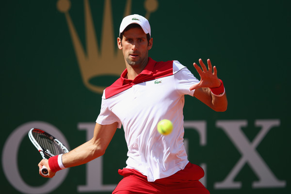 Novak Djokovic's forehand was firing on all cylinders during the match | Photo: Julian Finney/Getty Images Europe