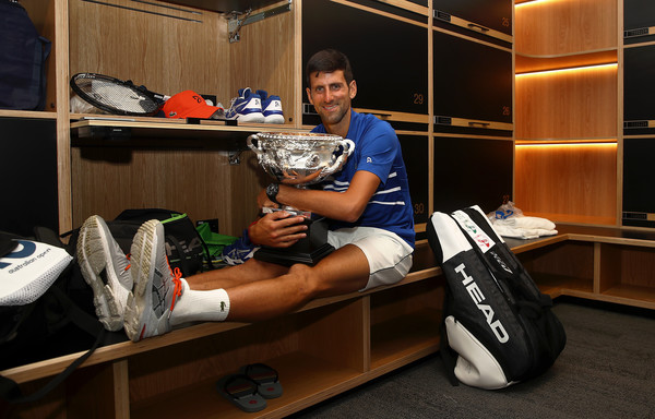 Djokovic has won his last three Grand Slam finals in straight sets (Image source: Julian Finney/Getty Images)