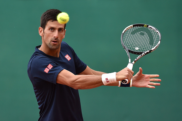 Djokovic during training session in Monte Carlo. | Photo: Getty Images