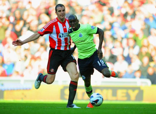 O'Shea is unbeaten against the Toon (photo: zimbio)